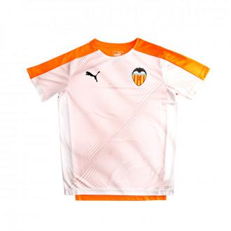 Camiseta Puma Valencia CF Stadium Primera Equipación 2019-2020 Niño Puma white-Vibrant orange