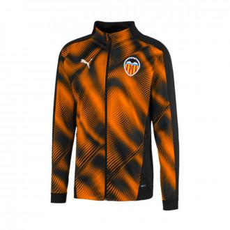 Jacket  Puma Valencia CF Stadium Primera/Segunda Equipación 2019-2020 Puma black-Vibrant orange