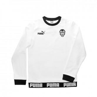 Felpa Puma Valencia CF Urban Culture 2019-2020 Niño Puma white