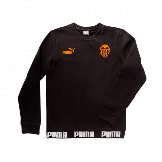 Sudadera  Puma Valencia CF Urban Culture 2019-2020 Niño Puma black