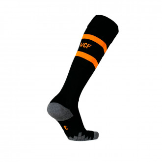 Football Socks Puma Valencia CF Segunda Equipación 2019-2020 Puma black-Vibrant orange