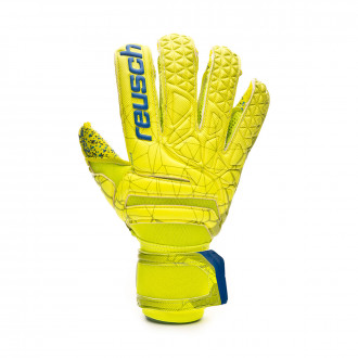 Guante  Reusch Fit Control G3 Fusion Evolution Finger Sup. Lime-Safety yellow