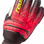 Guante Fit Control RG Finger Support Black-Fire red