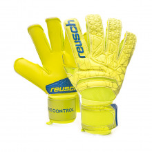 Glove Fit Control S1 Evolution Lime-Safety yellow