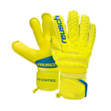 Glove Fit Control S1 Evolution Finger Support Niño Lime-Safety yellow
