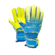 Luvas Fit Control SG Extra Finger Support Criança Blue-Lime