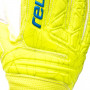Guante Fit Control RG Open Cuff Finger Support Niño Lime-Safety yellow