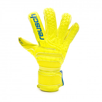 Glove  Reusch Fit Control S1 Evolution Niño Lime-Safety yellow