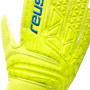 Guante Fit Control RG Open Cuff Niño Lime-Safety yellow