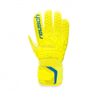 Guanti Reusch Fit Control SD Open Cuff Niño Lime-Safety yellow