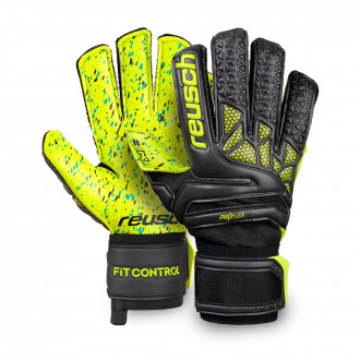 Glove Reusch Fit Control Pro G3 Fusion Hugo Lloris Black-Lime
