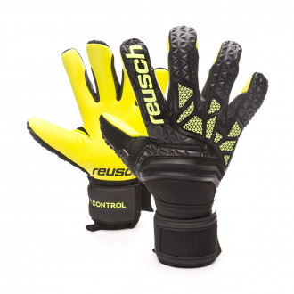 Guanti Reusch Fit Control Freegel S1 Hugo Lloris Black-Lime green