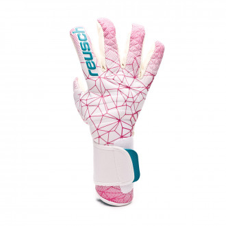Glove Reusch Woman Pure Contact II G3 WWC  White-Magenta