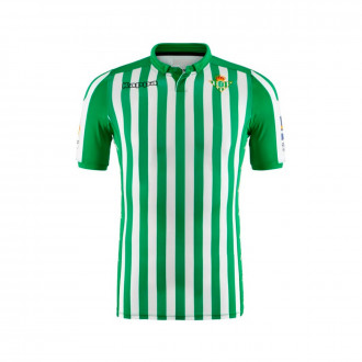 Maillot  Kappa Real Betis Match Domicile 2019-2020 Blanc-Vert