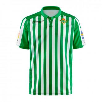 Camiseta Kappa Real Betis Balompié Primera Equipación 2019-2020 Blanco-Verde