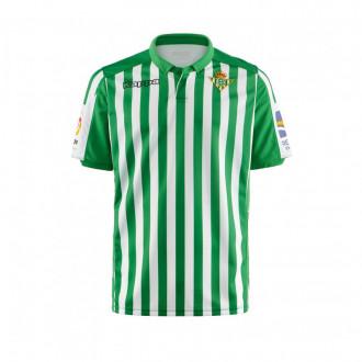 Camiseta Kappa Real Betis Balompié Primera Equipación 2019-2020 Niño Blanco-Verde