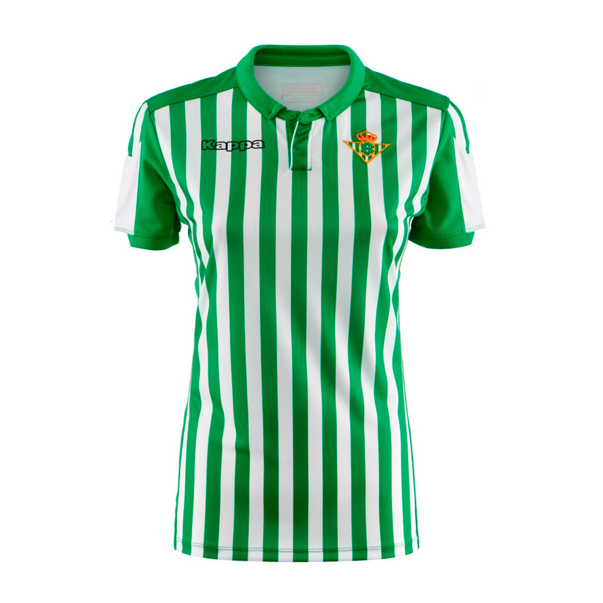 70fd8131 Jersey Kappa Woman Real Betis Balompie 2019-2020 Home White-Green -  Football store Fútbol Emotion