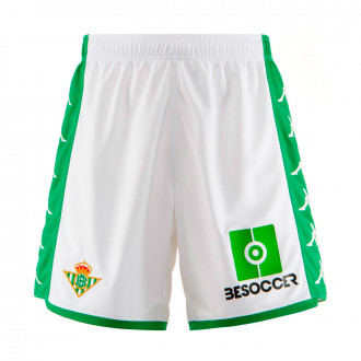 Shorts  Kappa Kids Real Betis Balompie 2019-2020 Home White