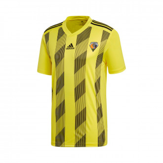 Camiseta  adidas Striped 19 m/c CE Mataró 2019-2020 Bright yellow-Black