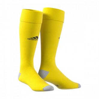 Football Socks Milano 16 CD Mataró 2019-2020 Yellow-Black