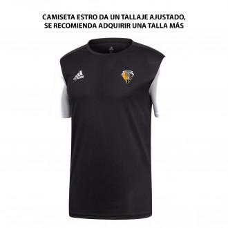Camiseta Estro 19 m/c CE Mataró 2019-2020 Black-White