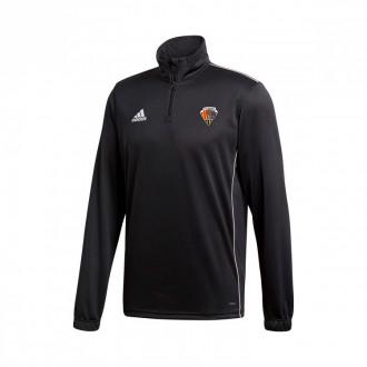 Sweatshirt Core 18 Training CE Mataró 2019-2020 Black-White
