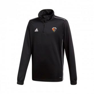 Sweatshirt Core 18 Training CE Mataró 2019-2020 Niño Black-White