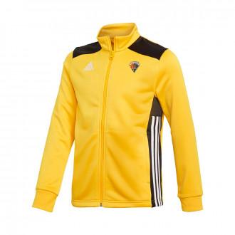 Jacket Regista 18 Polyester CE Mataró 2019-2020 Niño Bold gold-Black-White