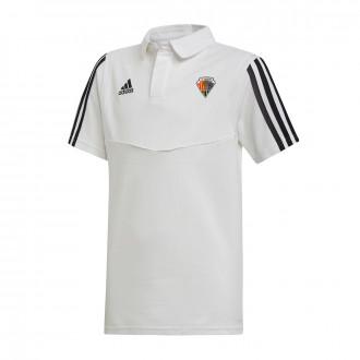 Polo shirt Tiro 19 m/c CE Mataró 2019-2020 White-Black