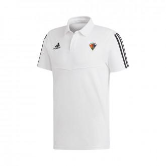 Polo shirt Tiro 19 m/c CE Mataró 2019-2020 Niño White-Black