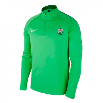 Sweatshirt Academy 18 Drill CD Berceo 2019-2020 Light green spark-Pine green-White