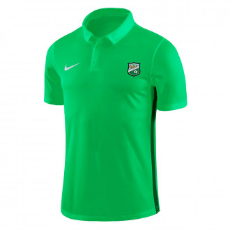 Pólo Academy 18 m/c CD Berceo 2019-2020 Niño Light green-Pine green-White
