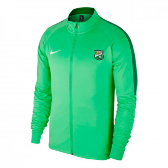 Casaco Academy 18 Knit CD Berceo 2019-2020 Light green spark-Pine green-White