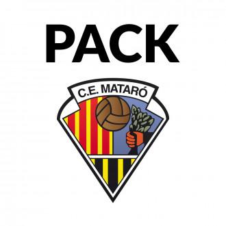 Pack  adidas CE Mataró 2019-2020 Porteros