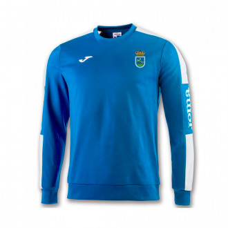 Sudadera Joma Champion IV SD Ribadeo 2019-2020 Royal-Blanco