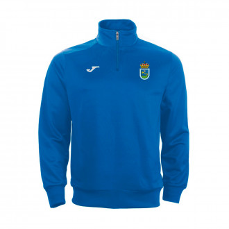 Sudadera Joma Faraon Media Cremallera SD Ribadeo 2019-2020 Royal