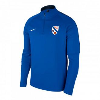 Sweatshirt Nike Academy 18 Drill SCD Pastoriza 2019-2020 Royal blue-Obsidian-White