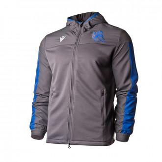 Jacket Macron Real Sociedad Prematch 2019-2020 Grey