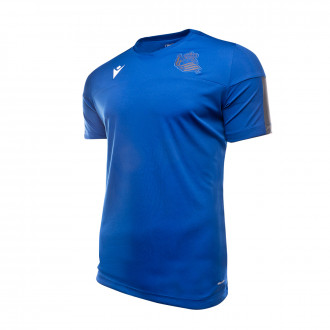 Playera Macron Real Sociedad Training 2019-2020 Blue