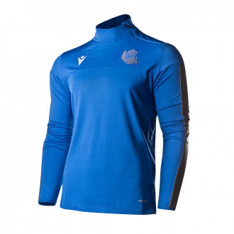 Sweatshirt Macron Real Sociedad Training 2019-2020 Blue