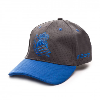 Cap Macron Real Sociedad 2019-2020 Grey-Blue