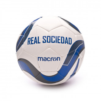 Ball Macron Real Sociedad 2019-2020 White-Blue
