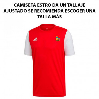 Camisola adidas Estro 19 m/c AD CA La Guidó 2019-2020 Power red-White