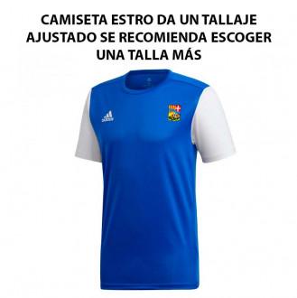 Camisola adidas Estro 19 m/c AD CA La Guidó 2019-2020 Bold blue-White