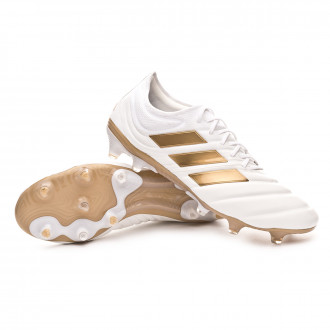 Copa 19.1 FG White-Gold metallic-Football blue