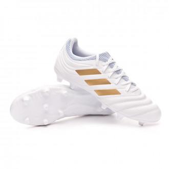 Copa 19.3 FG White-Gold metallic-Football blue