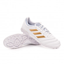 Sapatilhas Copa 19.3 Turf White-Gold metallic-Football blue