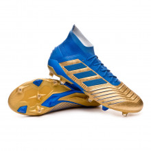Football Boots Predator 19.1 FG Gold metallic-Football blue-White