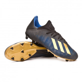 X 19.3 FG Core black-Gold metallic-Football blue