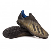Chaussure de foot X 19.3 LL Turf Core black-Gold metallic